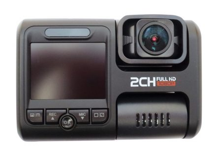 2CH Dash Camera Close Up
