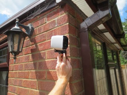 BC5 Wireless Security Camera Outdoor Mounted
