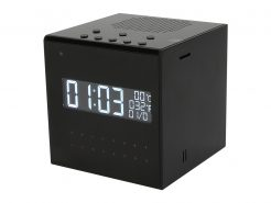 Speaker Clock Covert Camera