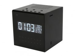 Speaker Clock Covert Camera