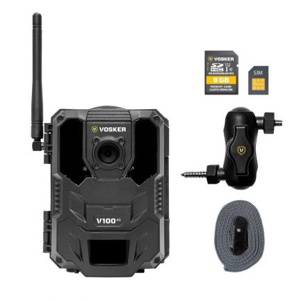 vosker-v100 camera with accessories